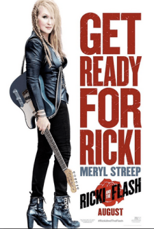 Ricki and the Flash starring Meryl Streep