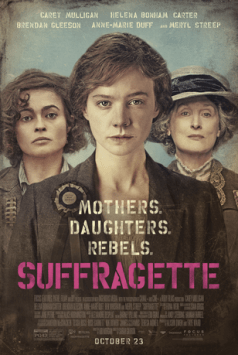 Suffragette opens October 23