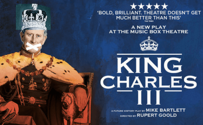 King Charles III opening night November 1