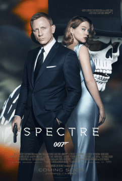Spectre with Daniel Craig