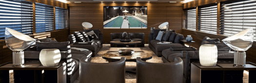 Silver Fast Superyacht - Lounge