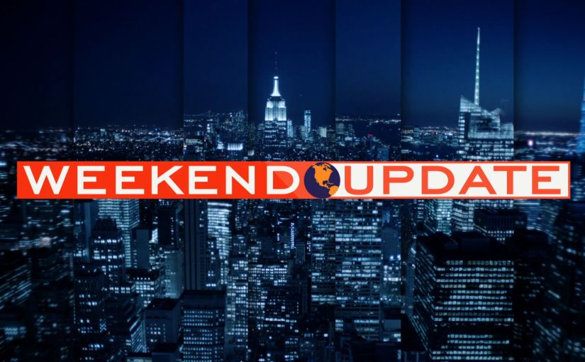 The Weekend Report: Jan 15-18