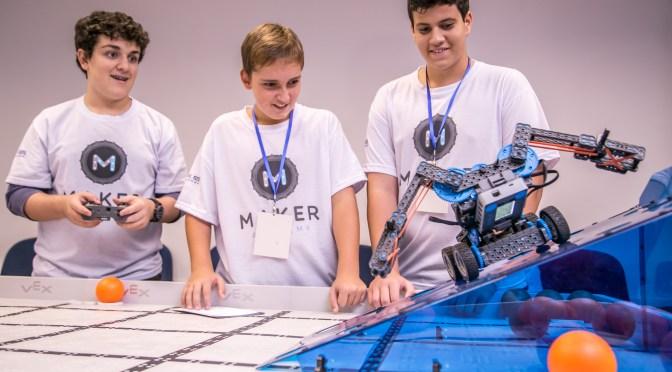 Alunos da Escola SESI conquistam 3º lugar em torneio de robótica