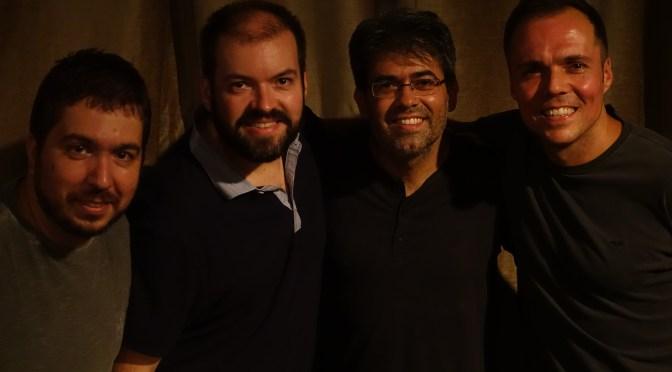 Estúdio Aldeia tem estreia da banda Queijo Minas neste feriado