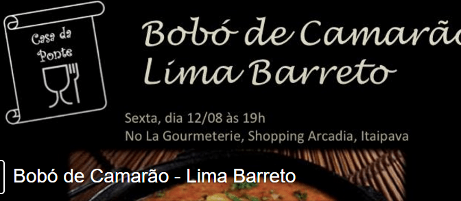 Chef Roberto Lima Barreto, da Le Grain, elabora jantar em Itaipava