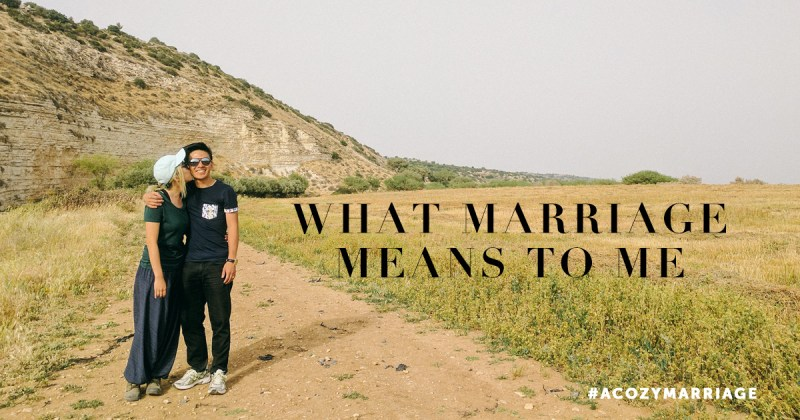 what marriage means to me