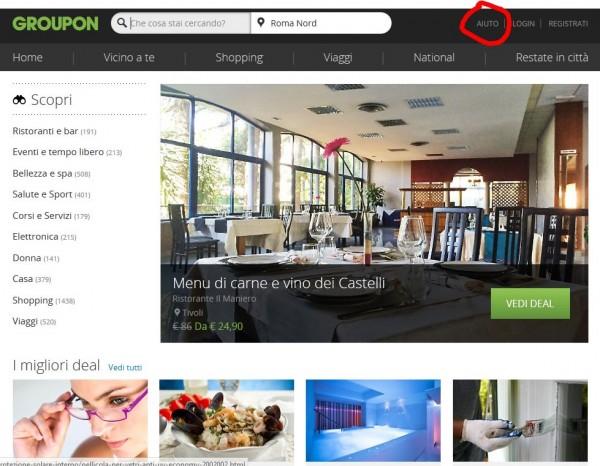 Come contattare Groupon: email, live chat e telefono