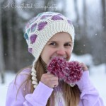 DIY Fur Pom tutorial by A Crocheted Simplicity