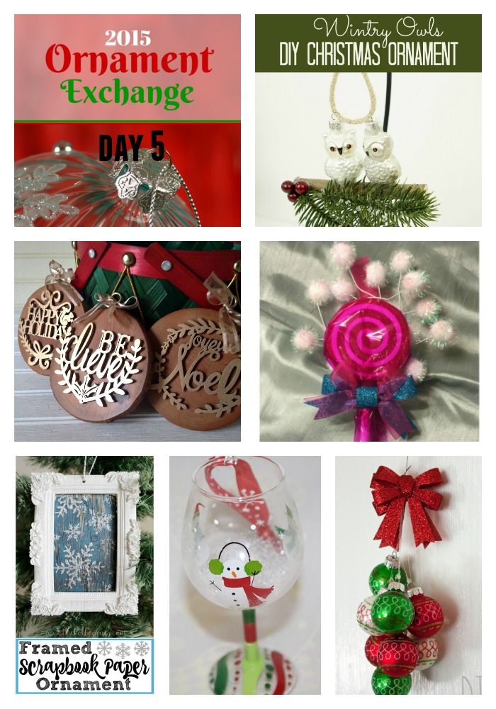 Day Five Ornament Exchange