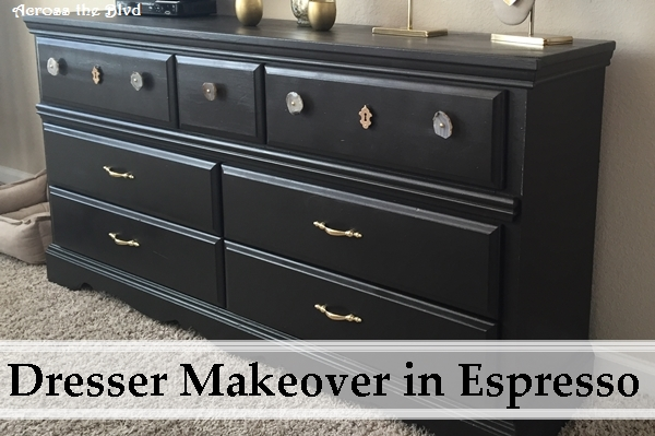 Dresser Makeover Across the Blvd