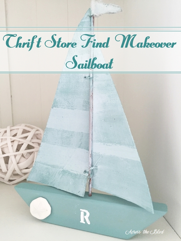Sailboat Decor Makeover Across the Blvd