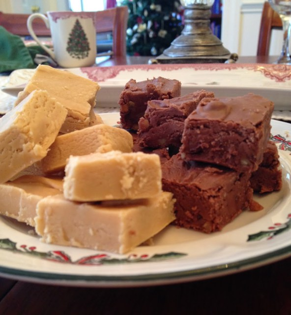 Chocolate or Peanut Butter Fudge Across the Blvd