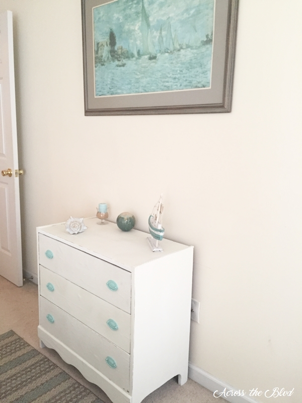 Painting and Chest of Drawers Makeover