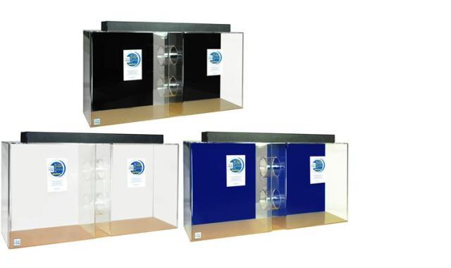 55 Gallon Acrylic Tube Aquarium 48x13x24 | Acrylic Aquariums