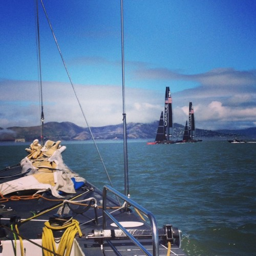 Both of Oracle's AC72's training