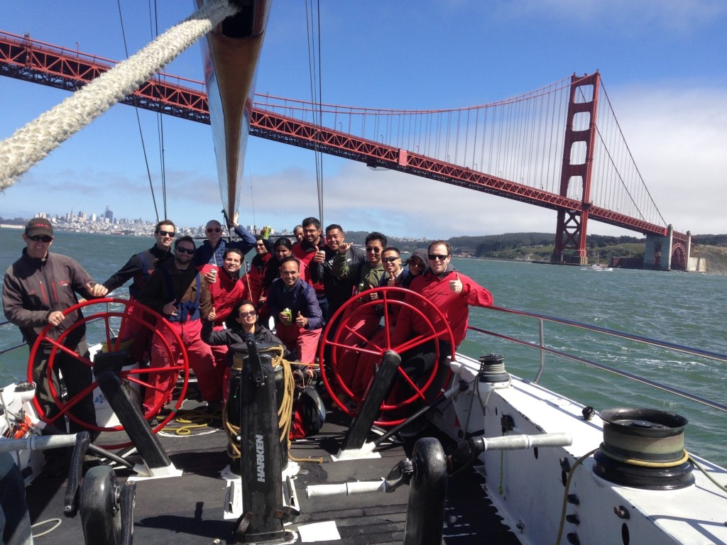 private yacht charter and unique activities on san francisco bay
