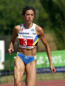 Rieti 03-08-2003 Campiuonati Italiani Assoluti di atletica leggera Graglia Daniela nei 200mt foto Omega/Colombo Giancarlo