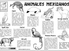 Animales mexicanos