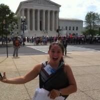 Bethany Kharrazi in Washington D.C. advocating for those living with Cystic Fibrosis. (Martin Kharrazi)