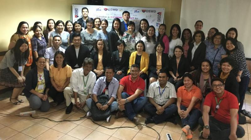 ACTION-DSWD-JICA LAUNCH ITS CAPACITY BUILDING PROJECT FOR SOCIAL WORKERS AND HOUSE PARENTS