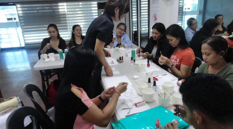 ACTION, Inc. Launched Nail Art Training in Quezon City