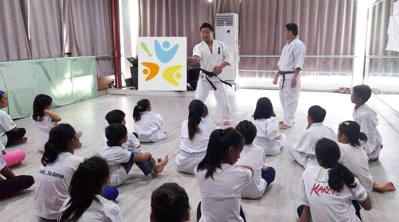 Karatekas level up in the Karate Promotional Examination, Osu!