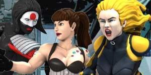 Katana Starling Black Canary