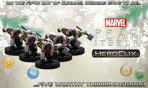 HeroClix Fear Itself - the Thing.