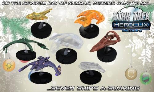 Star Trek HeroClix Ships