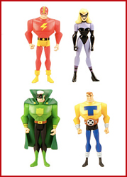JLU Justice Guild 4-Pack