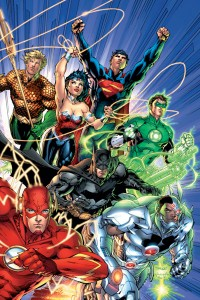 Justice League 1 comic cover
