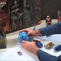 Video: Mattel's 2013 SDCC MOTUC Comet Warriors and New 52 Shazam