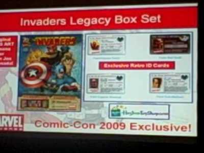 SDCC09 – Hasbro/Marvel License Panel 2 of 6