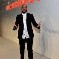 LAS VEGAS, NV - JUNE 09:  NBA superstar Carmelo Anthony teams up with Nickelodeon to announce the new Turtles by Melo product line at the Nickelodeon presentation at Licensing Expo on Tuesday, June 9, 2015 in Las Vegas, Nevada.  (Photo by David Becker/Getty Images for NICKELODEON) *** Local Caption *** Carmelo Anthony