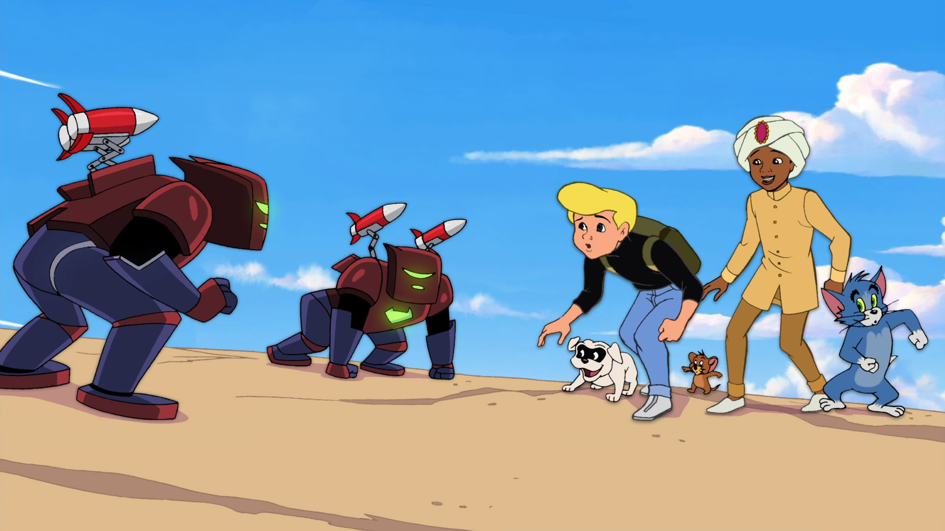 tom and jerry meet jonny quest images