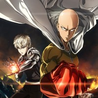 One Punch Man Anime Key Art