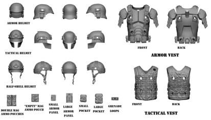 Marauder Task Force Gaming Figures 02