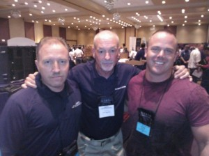 Brian Buchanan, Dave Spaulding and me at ILEETA