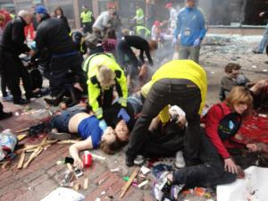 Aftermath of the Boston Bombing
