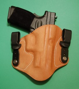 """Tuckable"" holster from Tucker Gun Leather"