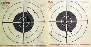 K-Frame on left. J-frame on right
