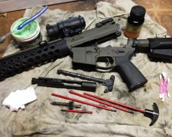 SHTF_Survival_cache_AR15_cleaning_best_vltor_BCM_gunfighter_aimpoint_comp_ML3_head_down_products_BCG_hoppes_9_froglube_troy_industries_alpha_rail_magpul_MBS_ACS_MOE_SHTF