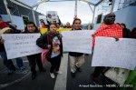 marcha dentro de la COP21