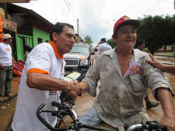Modesto Figueroa, congresista electo por Madre de Dios, es investigado por vínculos con Minería ilegal. Foto: Facebook Modesto Figueroa Minaya - Cigarrito