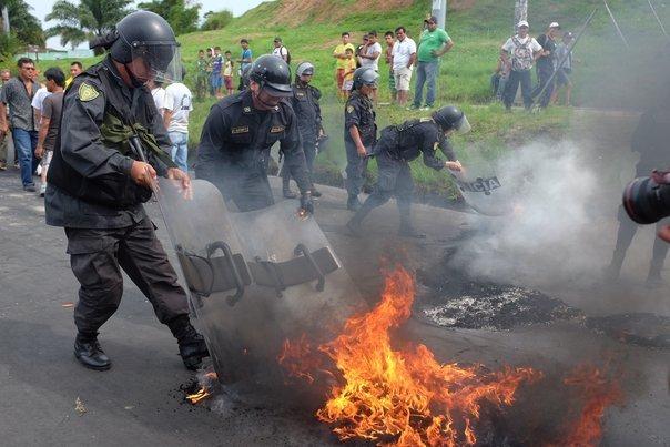 protesta loreto - diario correo