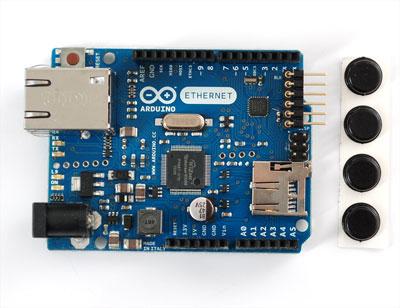 Arduino com Ethernet