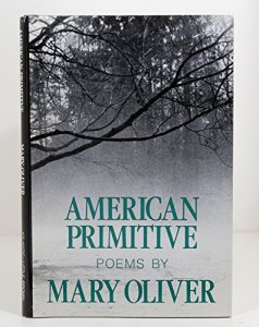 Cover, American Primitive by Mary Oliver