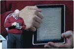 Steve Ballmer Demos HP Slate