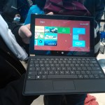 Surface tablet with a non touch keyboard