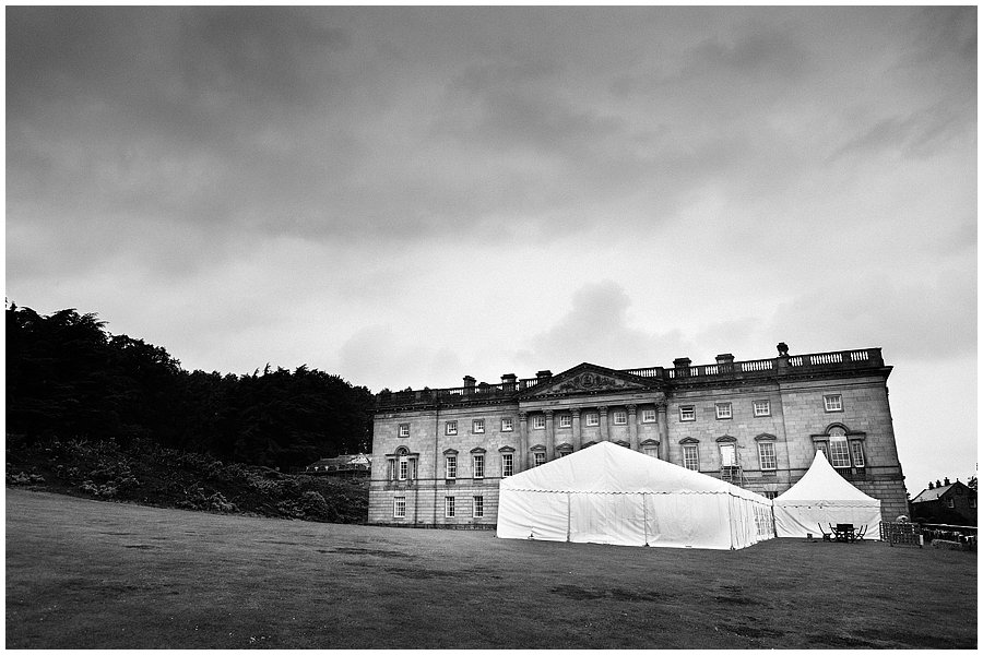 Wentworth Castle marquee